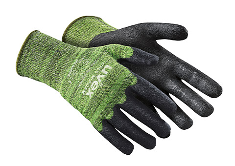 uvex C500 M foam cut protection glove