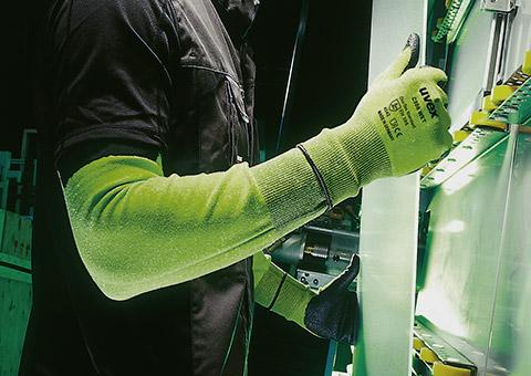 uvex C500 cut protection range