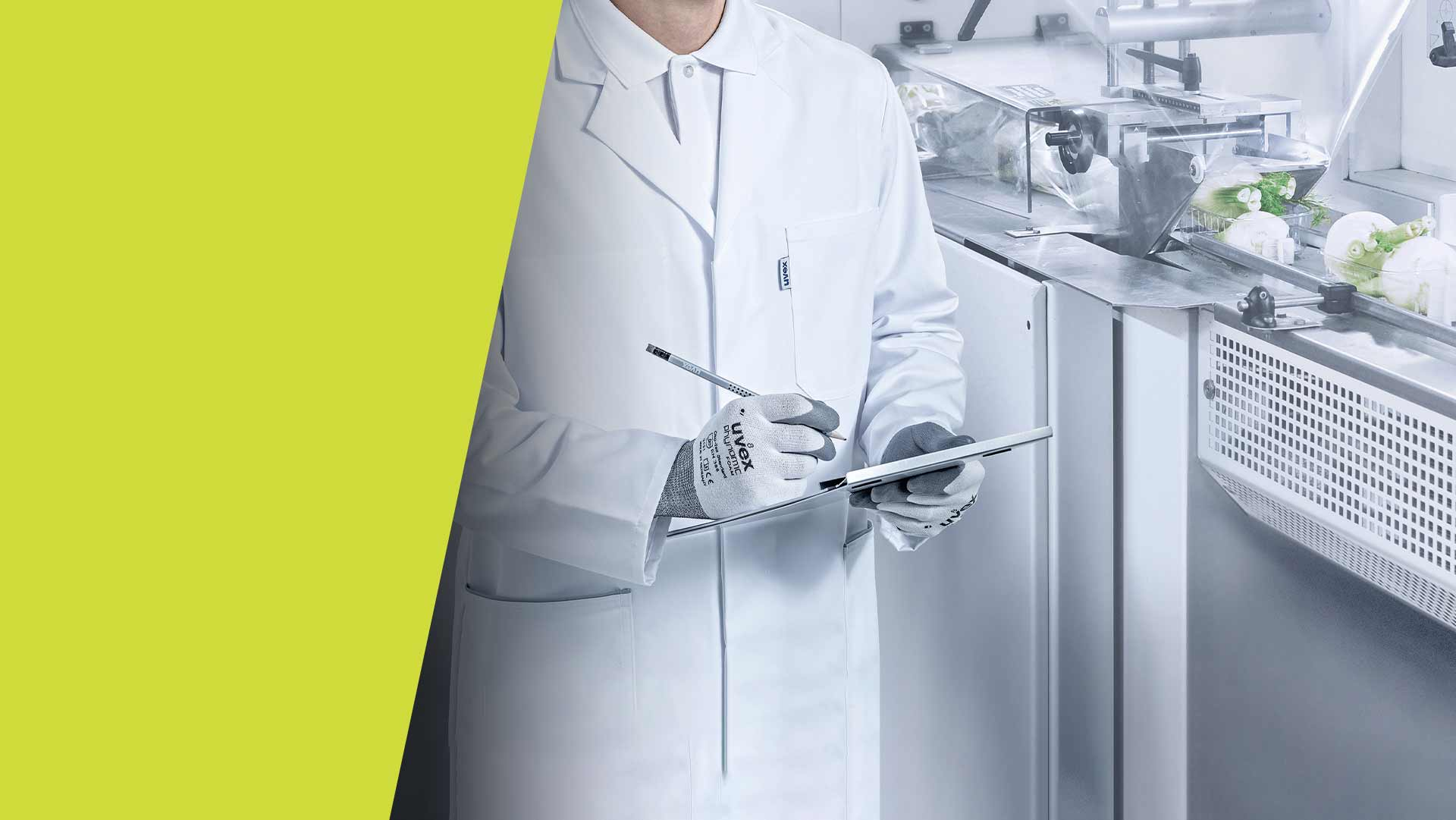 Food standard approved safety gloves