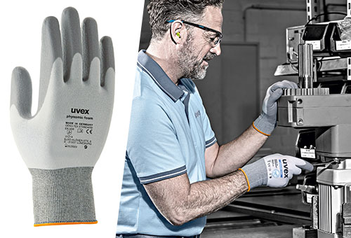 uvex phynomic foam safety glove