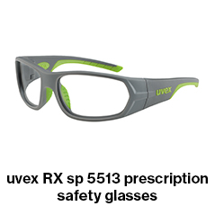 uvex RX sp 5513 prescription safety glasses
