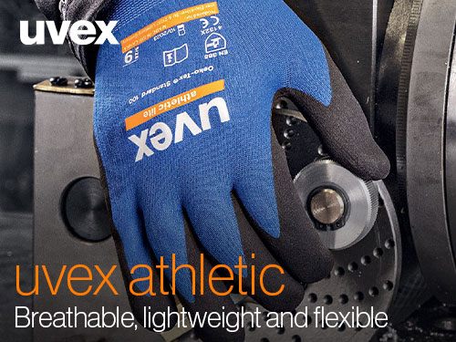 Download the uvex athletic gloves brochure