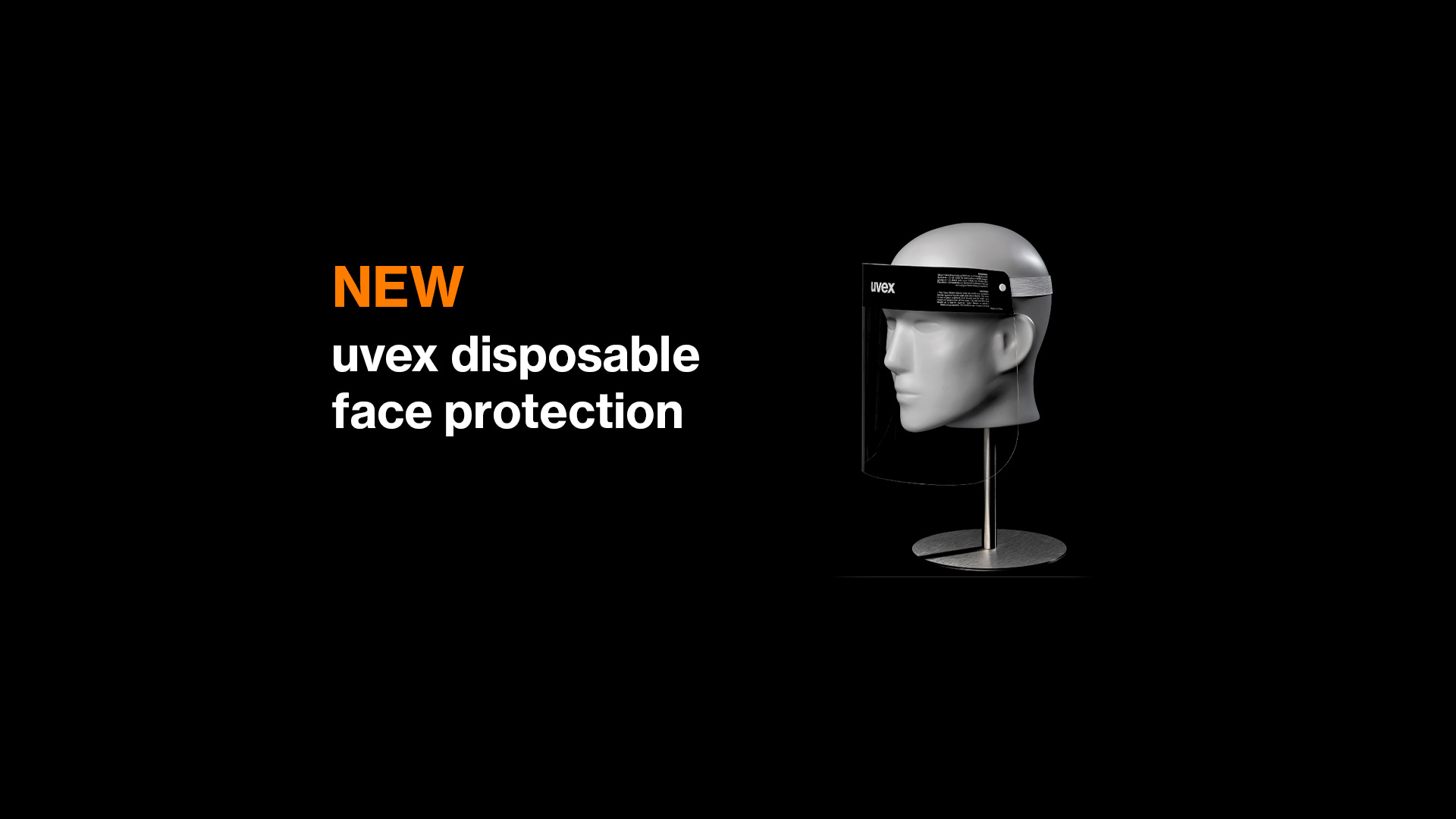 uvex disposable faceshield