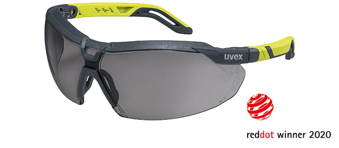 uvex i-5 is a red dot design award winner