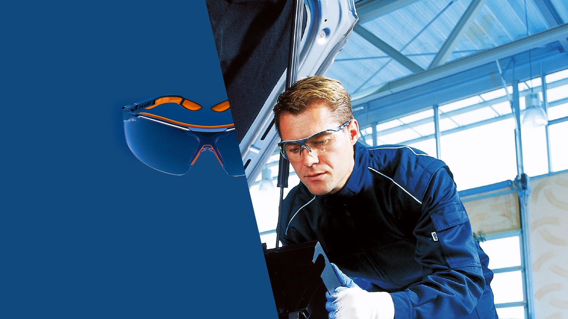 uvex i-vo safety spectacles