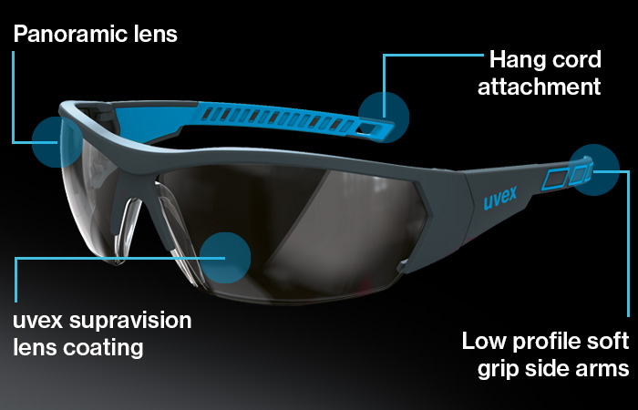 uvex i-works safety eyewear