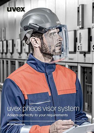 uvex pheos visor system brochure