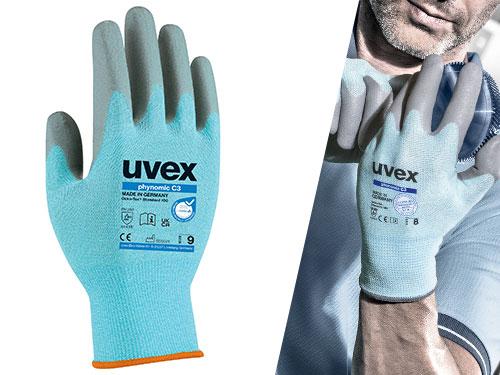 uvex phynomic C3 cut protection glove