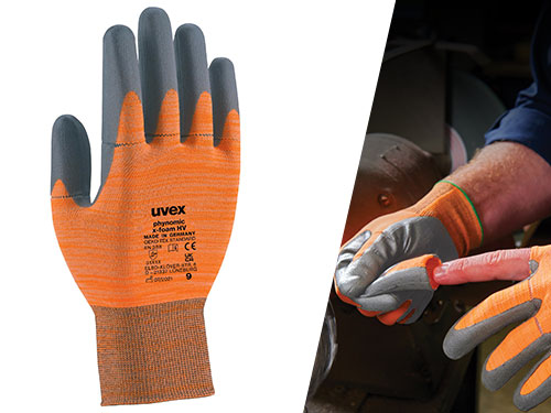 uvex phynomic x-foam HV safety glove