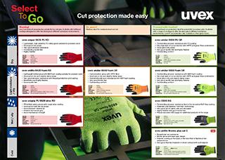 uvex SelectToGo range<