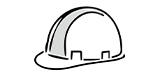 Safety helmets icon