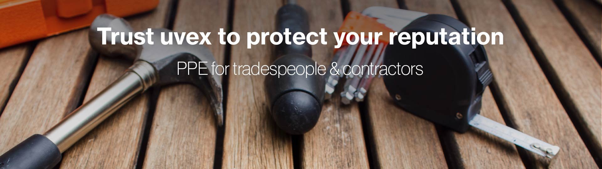 PPE perfectly suited for tradespeople