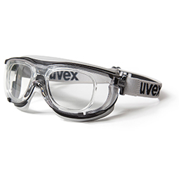 uvex carbonvision RX prescription safety goggles