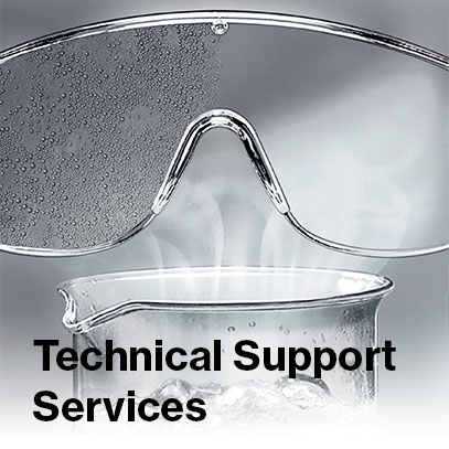 Technical support services from uvex