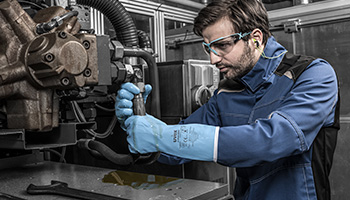 uvex chemical glove solutions