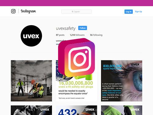 Follow uvex on Instagram