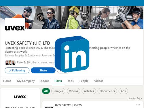 Follow uvex on LinkedIn