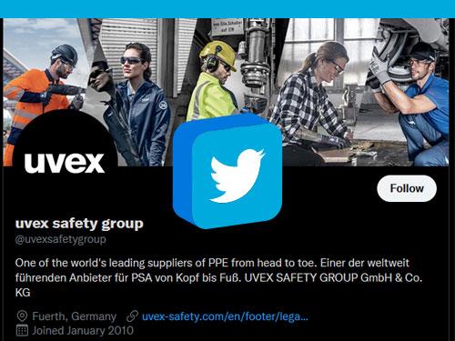 Follow uvex on Twitter
