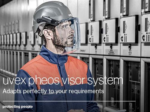 Download the uvex pheos visor system brochure