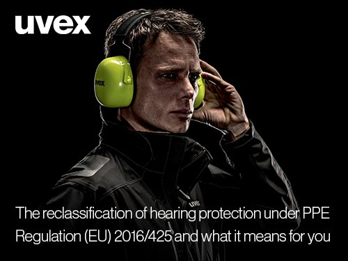 Download our guide to the reclassification of hearing protection