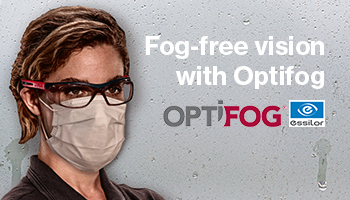 Fog-free, clear vision with the Optifog system