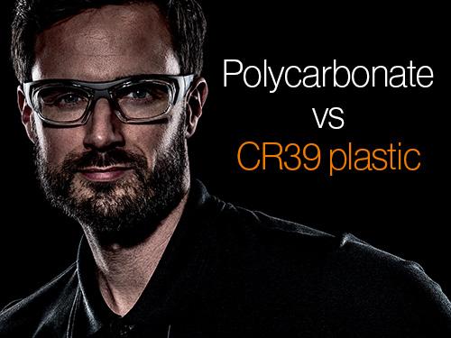 Polycarbonate versus CR39 plastic lenses