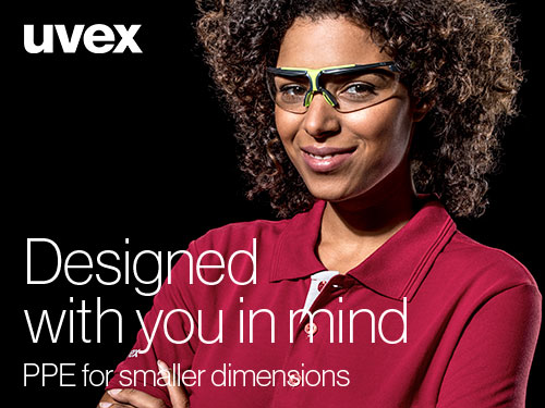 Discover small sized PPE from uvex