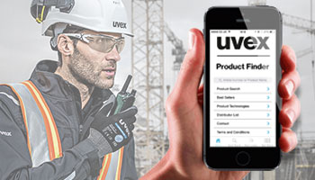 uvex product finder app