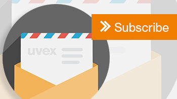 Sign up to the uvex safety newsletter