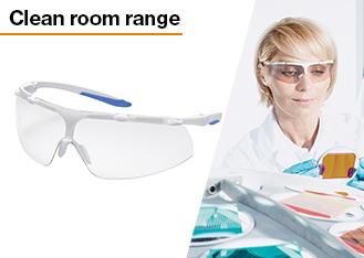 uvex's clean room range is designed for autoclave sterilisation