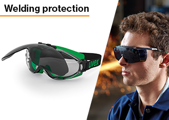 uvex provide reliable welding protection