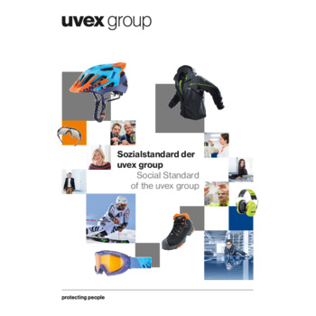 The social standard of the uvex group (PDF 2.8MB)
