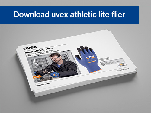 Download the uvex athletic lite flier