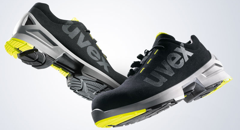uvex 1 safety shoes video