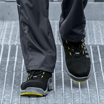 Anti-fatigue footwear from uvex