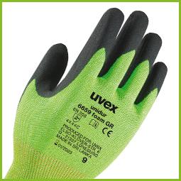 Green cut level 1 uvex safety glove5