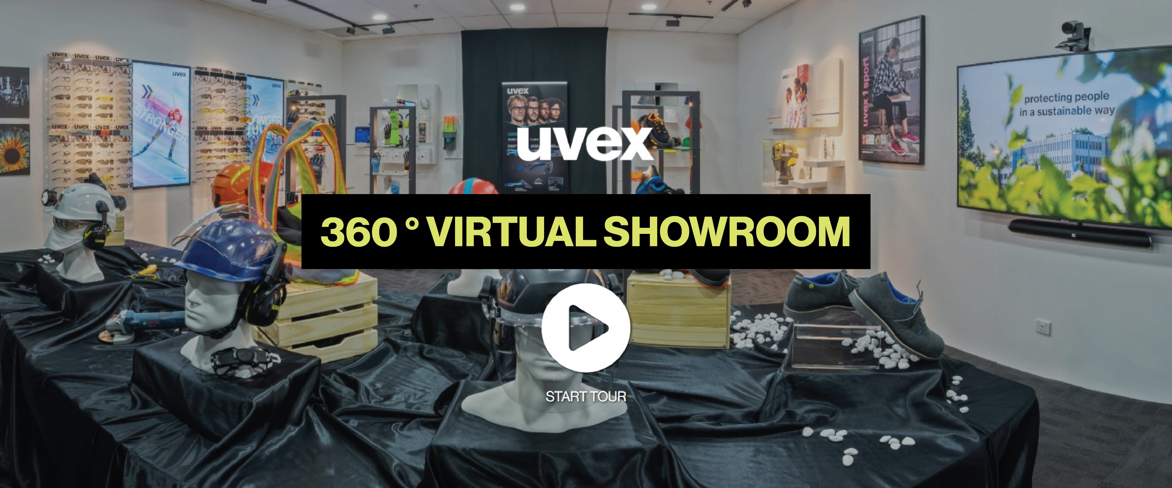 360 degrees virtual tour and showroom