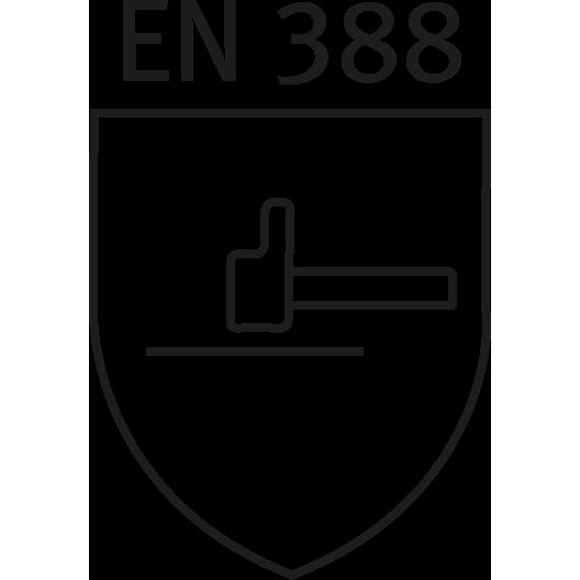 DIN EN 388 safety standard logo
