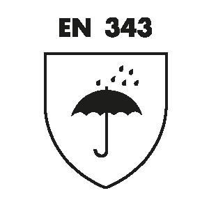 European DIN EN 343 Standard Icon
