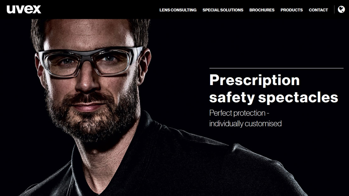 53ec7aa86bd4 This makes it easier to choose the prescription safety eyewear that best  suit your needs. See the uvex ...