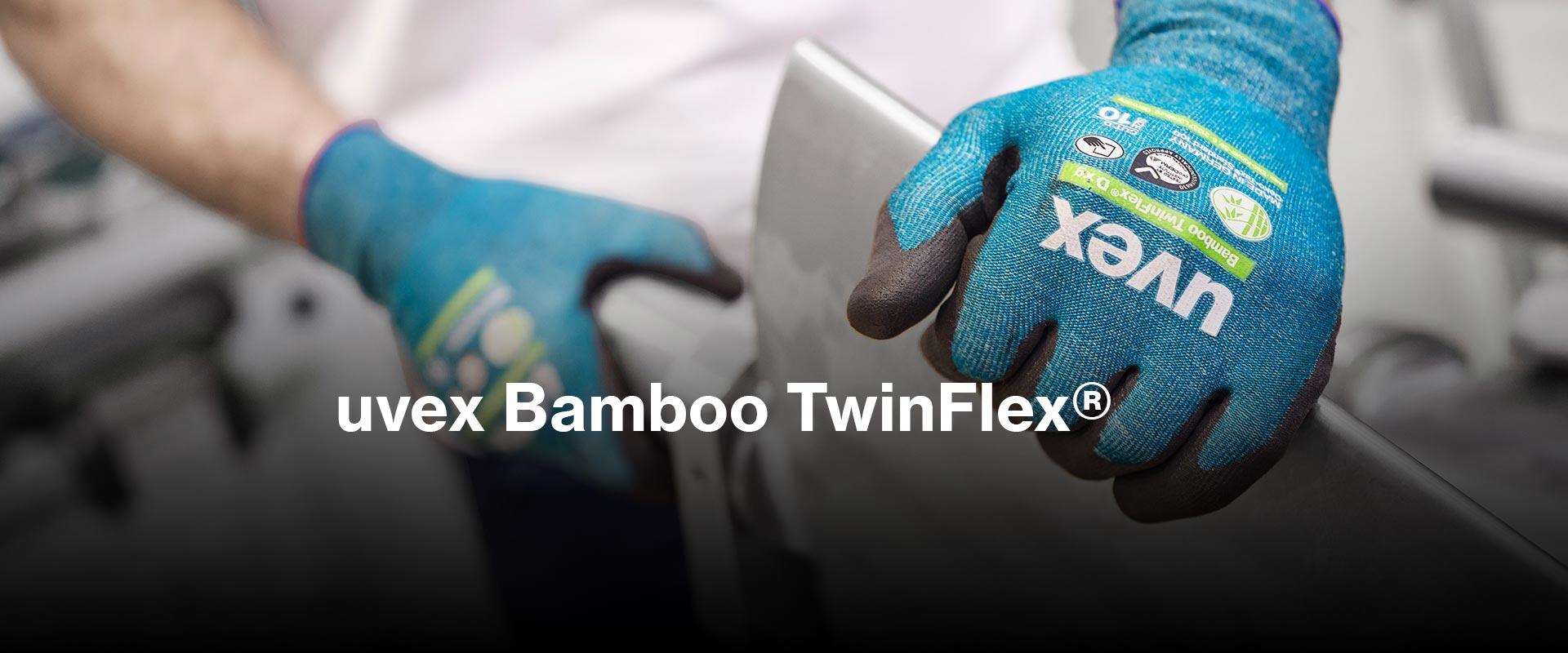 nachhaltige Schnittschutzhandschuhe aus Bambus