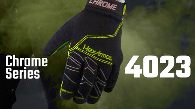 Mechanic Work Gloves   Chrome Series® 4023