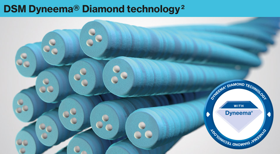Technologie DSM Dyneema® Diamond