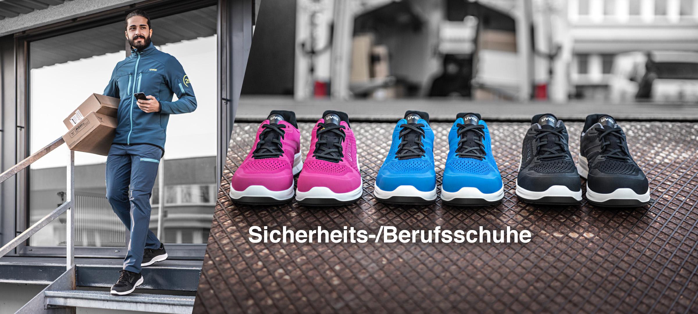 Sneaker Sicherheitsschuhe - uvex 1 sport