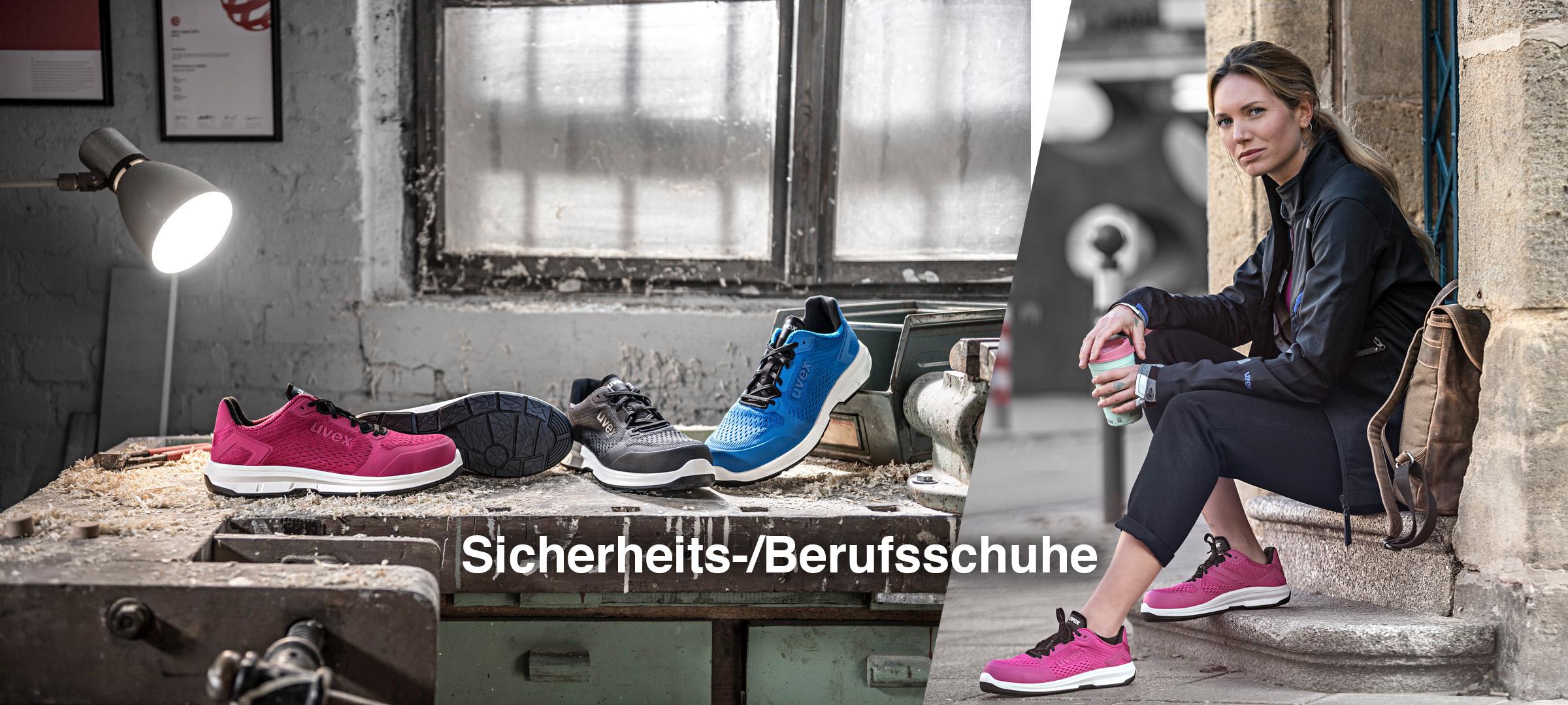 Sportliche Sicherheitsschuhe Sneaker Look - uvex 1 sport