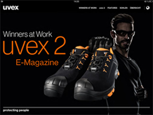 Visit our e-magazine about uvex 2 safety footwear