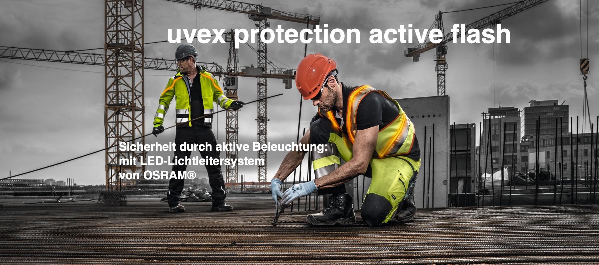 Sicherheit durch Sichtbarkeit – mit einer aktiv leuchtenden Schutzweste