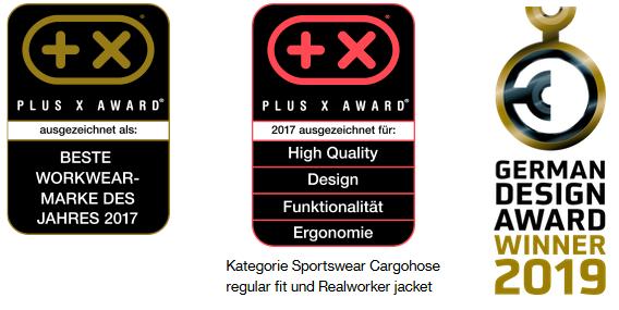 Arbeitskleidung von uvex safety bietet höchste Qualität. Kein Wunder, dass die Workwear-Kollektion uvex suXXeed mit dem Plus X Award für die beste Workwear-Marke des Jahres 2017 ausgezeichnet wurde.