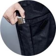 [Translate to Deutsch:] Schutzhose mit praktischer Tasche