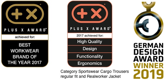 [Translate to Swedish:] Workwear from uvex safety offers premium quality – and is brand of the year 2017.